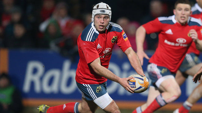 Munster scrum half Duncan Williams