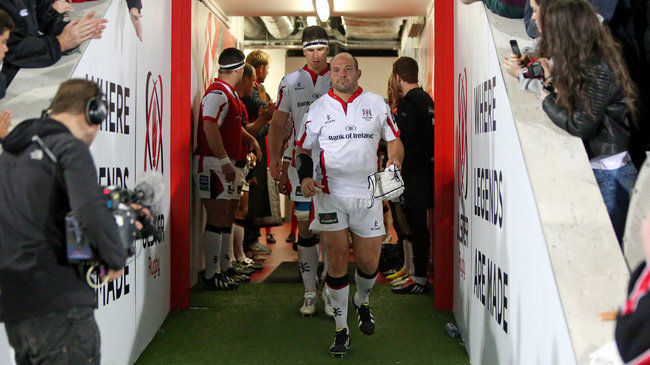 50th European Cap For Ulster Captain Best