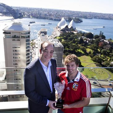 Halfpenny Is Lions Player Of The Series