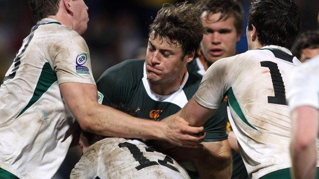 Munster Sign Young Centre Howard