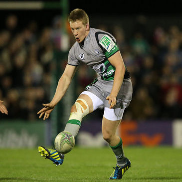Eoin Griffin in action for Connacht