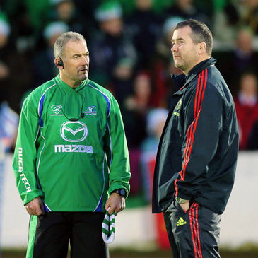 Eric Elwood with Anthony Foley