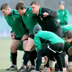 Ireland Squad Training Session At Carton House, Maynooth, Tuesday, January 22, 2013