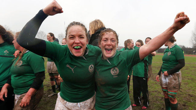 Ireland's Niamh Briggs and Grace Davitt
