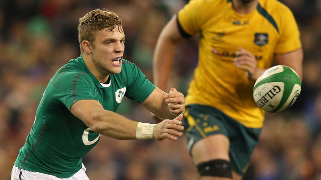 Irish Rugby TV: Ian Madigan On The First Day In Camp