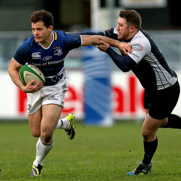 Sam Coghlan Murray makes a break for Leinster 'A'