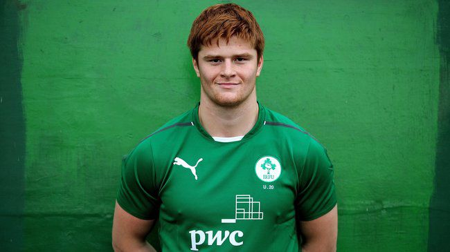Sean O'Brien will captain the Ireland Under-20s tonight