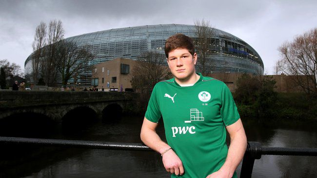 Ireland Under-20 international Jack O'Donoghue