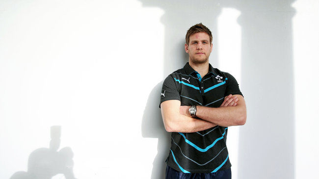 Ireland flanker Chris Henry