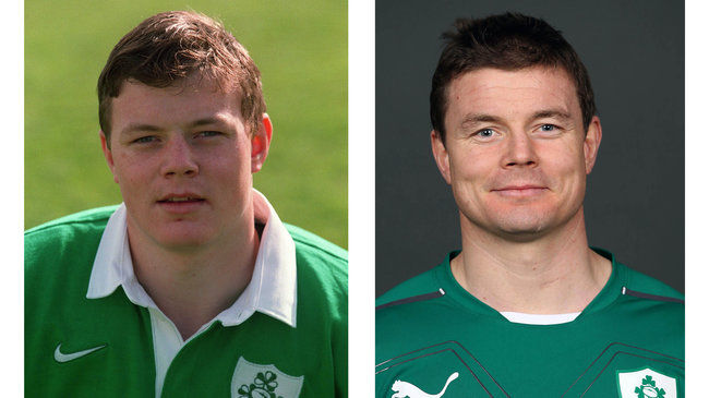 Brian O'Driscoll will make his 140th international appearance on Saturday