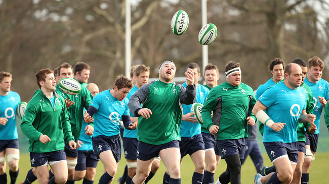 Ireland Squad Training At Carton House, Maynooth, Tuesday, March 4, 2014