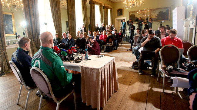The Ireland team to play France will be named live on IrishRugby.ie
