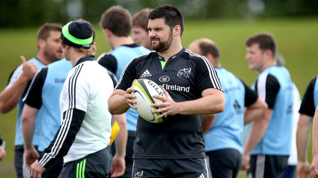 Munster Include Three Debutants For Edinburgh Clash