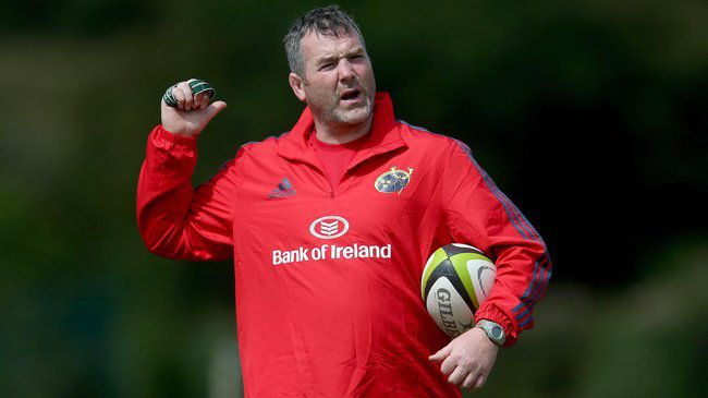 Irish Rugby TV: Anthony Foley On Taking Charge Of Munster