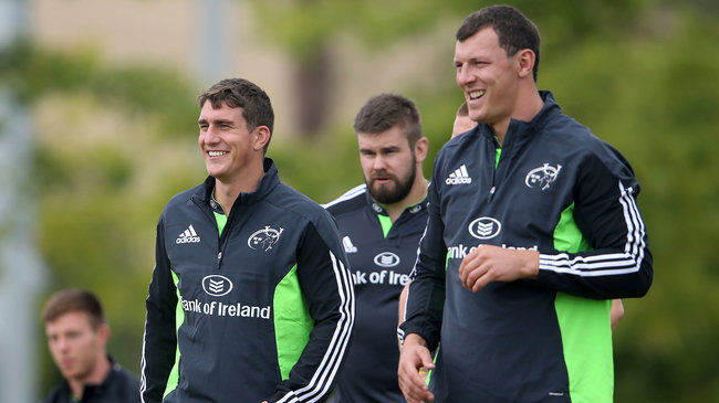 Munster Duo Return From International Duty