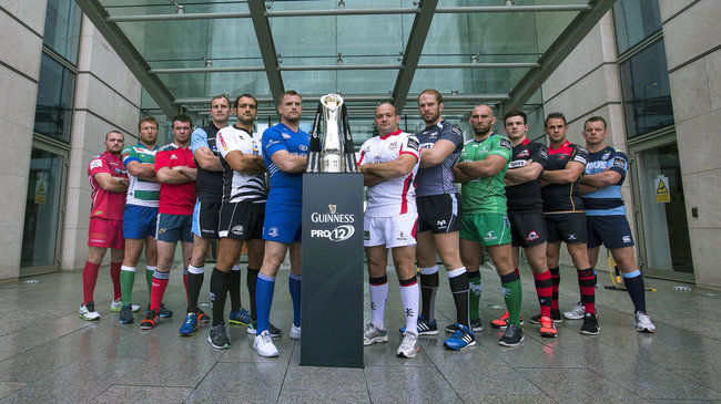 GUINNESS PRO12 Is Launched In London