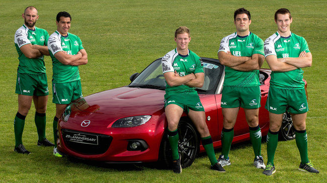 Irish Rugby TV: Mazda Confirmed As Connacht's 'Driving Force'