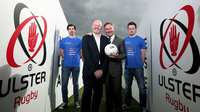 Ulster Rugby And Ulster GAA Combine For 'Game For Anto'