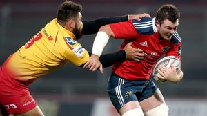 Munster 17 Scarlets 6, Thomond Park, Friday, October 10, 2014