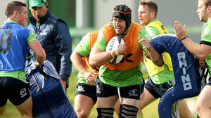 Connacht Squad Training At The Sportsground, Tuesday, October 14, 2014
