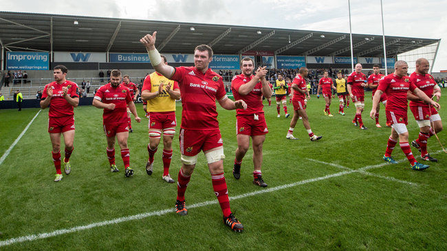 In Pics: Sale Sharks 26 Munster 27