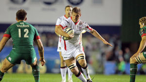 Leicester Tigers 25 Ulster 18, Welford Road, Saturday, October 18, 2014