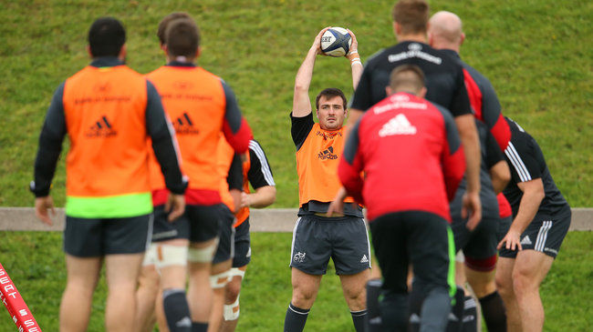 Munster 'A' Make Five Changes For Nottingham Trip