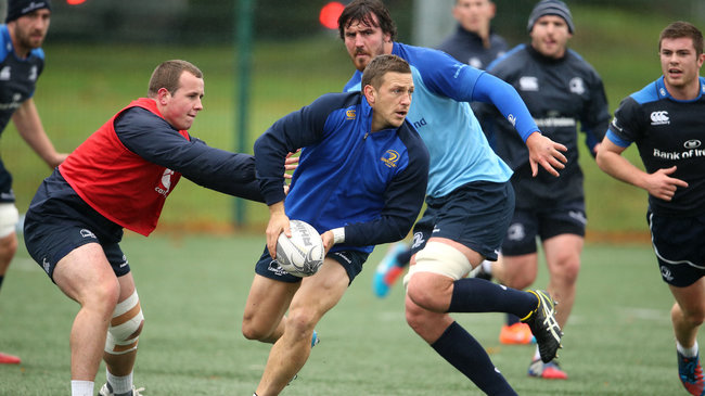 Leinster Squad Training At UCD, Tuesday, October 28, 2014