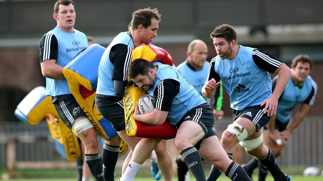 Munster Squad Training At UL, Tuesday, October 28, 2014
