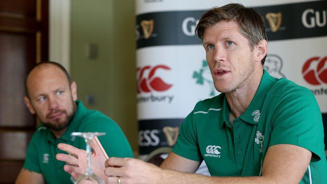 Irish Rugby TV: Simon Easterby & Greg Feek