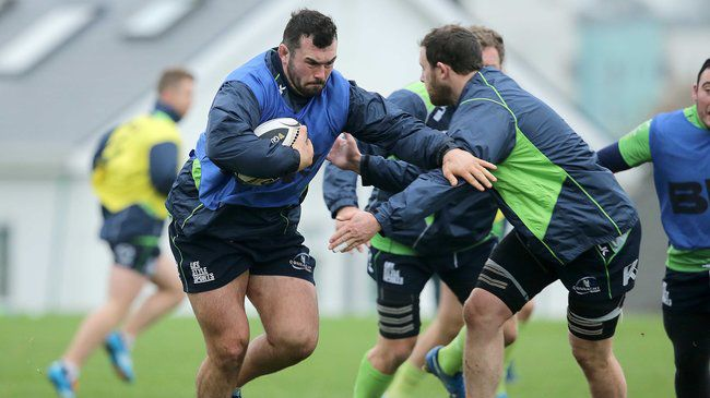 In Pics: Connacht Training At The Sportsground