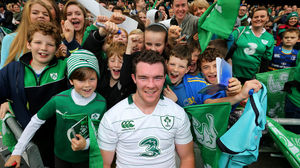 Players Mix With Fans At The Ireland Open Training Session, Friday, October 31, 2014