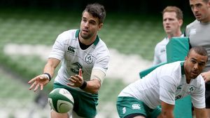 Ireland Open Training Session At The Aviva Stadium, Friday, October 31, 2014