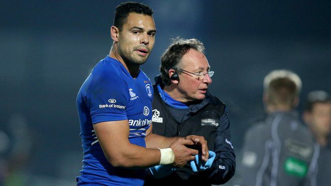 Leinster Newcomer Te'o Is Sidelined For Six Weeks