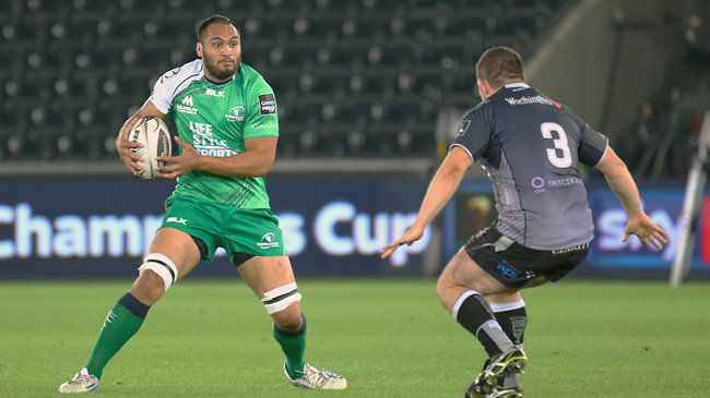 Naoupu Voted Connacht Player Of The Month