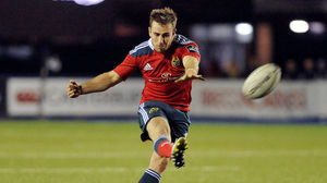 Cardiff Blues 24 Munster 28, BT Sport Cardiff Arms Park, Saturday, November 1, 2014