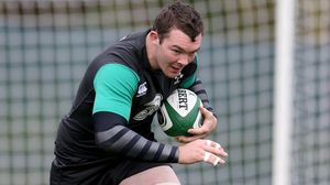 Ireland Squad Training At Carton House, Tuesday, November 4, 2014