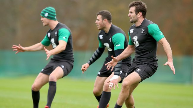 Ireland Squad Training At Carton House, Thursday, November 6, 2014