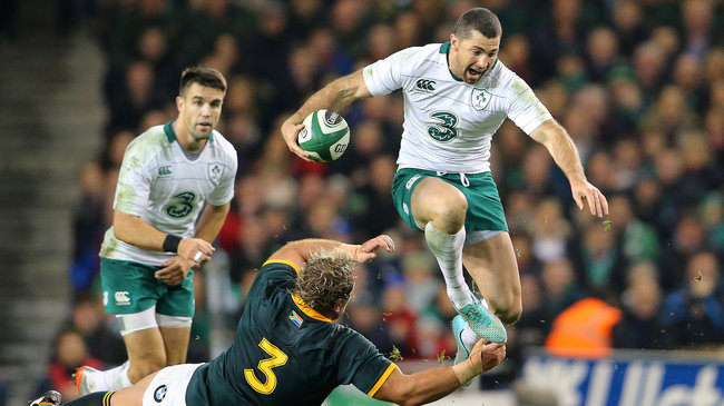 Ireland 29 South Africa 15, Aviva Stadium, Saturday, November 8, 2014