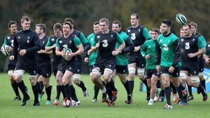 Ireland Squad Training At Carton House, Wednesday, November 12, 2014