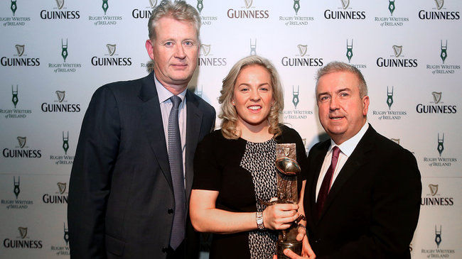 In Pics: 2014 GUINNESS Rugby Writers Of Ireland Awards