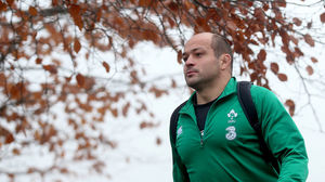 Ireland Squad Training At Carton House, Thursday, November 20, 2014