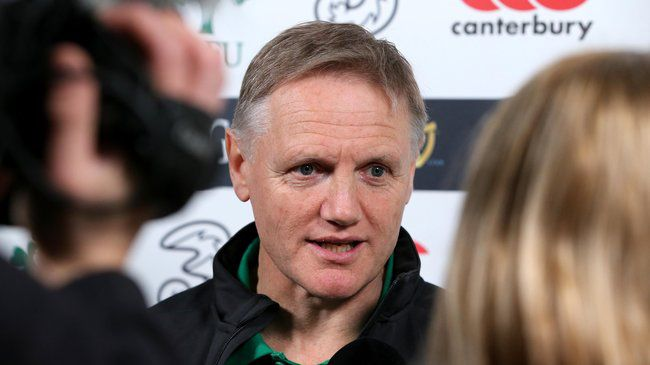IRFU Update: Joe Schmidt