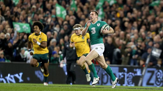 Ireland 26 Australia 23, Aviva Stadium, Saturday, November 22, 2014