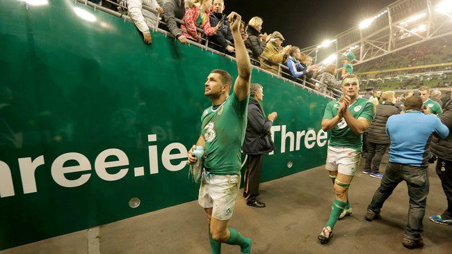 Irish Rugby TV: Ireland v Australia Three Tunnel Cam