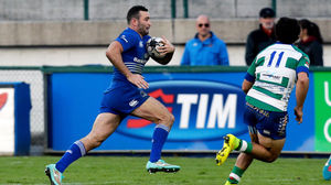 Benetton Treviso 24 Leinster 24, Stadio Di Monigo, Sunday, November 23, 2014