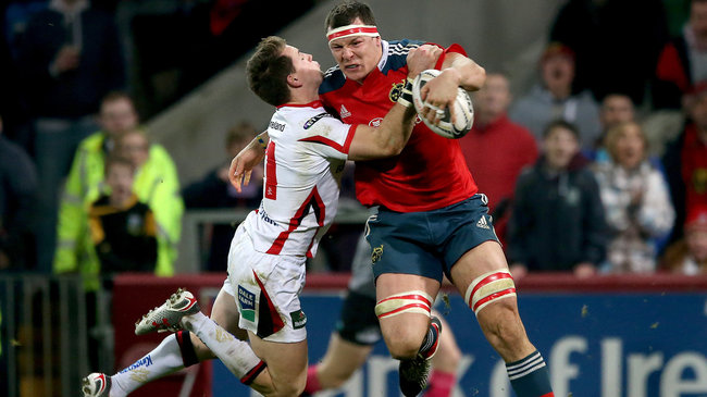 Munster 21 Ulster 20, Thomond Park, Friday, November 28, 2014