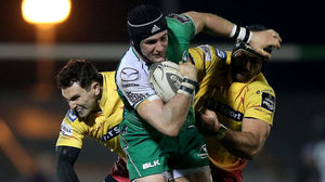 Connacht 14 Scarlets 8, The Sportsground, Saturday, November 29, 2014