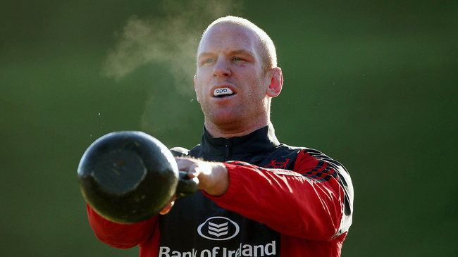 Munster's International Contingent Return For Clermont Game