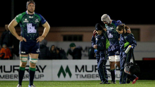 Kearney Joins Connacht's Injury List